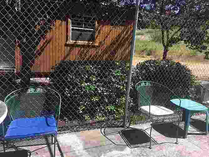 Airport Gardens project - from B4 catio