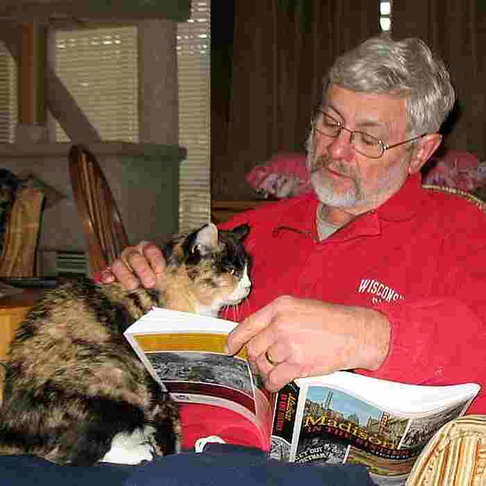 My friend Keith loved reading to me